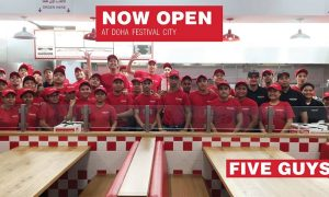 Five Guys at Doha Festival City