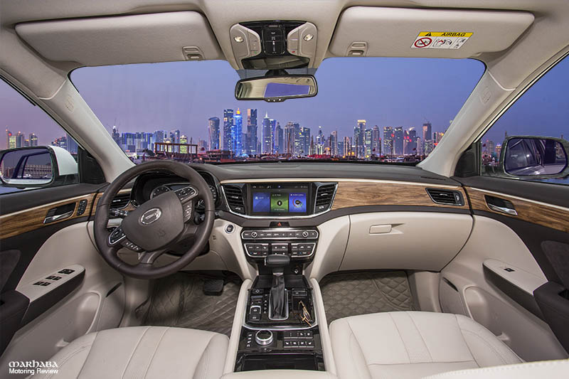 GAC GS8 Interior Doha website