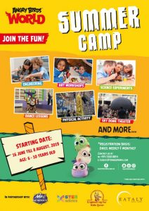 Angry Birds World Summer Camp