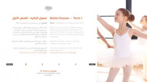 Ballet Classes - Term 1