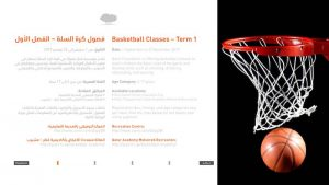 Basketball Classes - Term 1