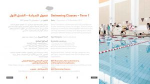 Swimming Classes - Term 1