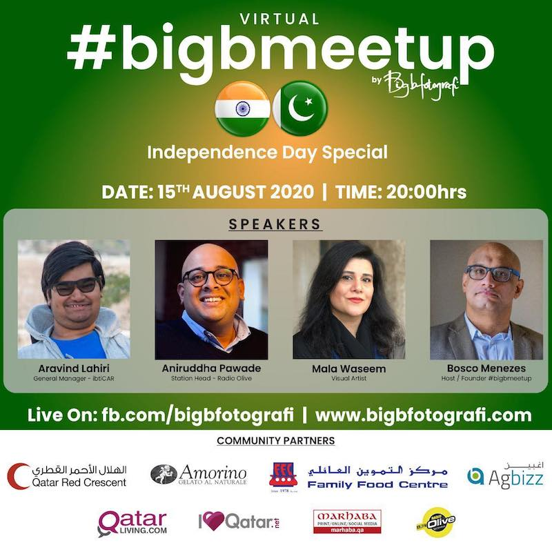 Virtual #bigbmeetup - Independence Day Special