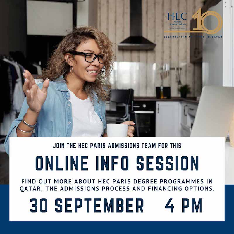 HEC Paris in Qatar Online Information Session 2